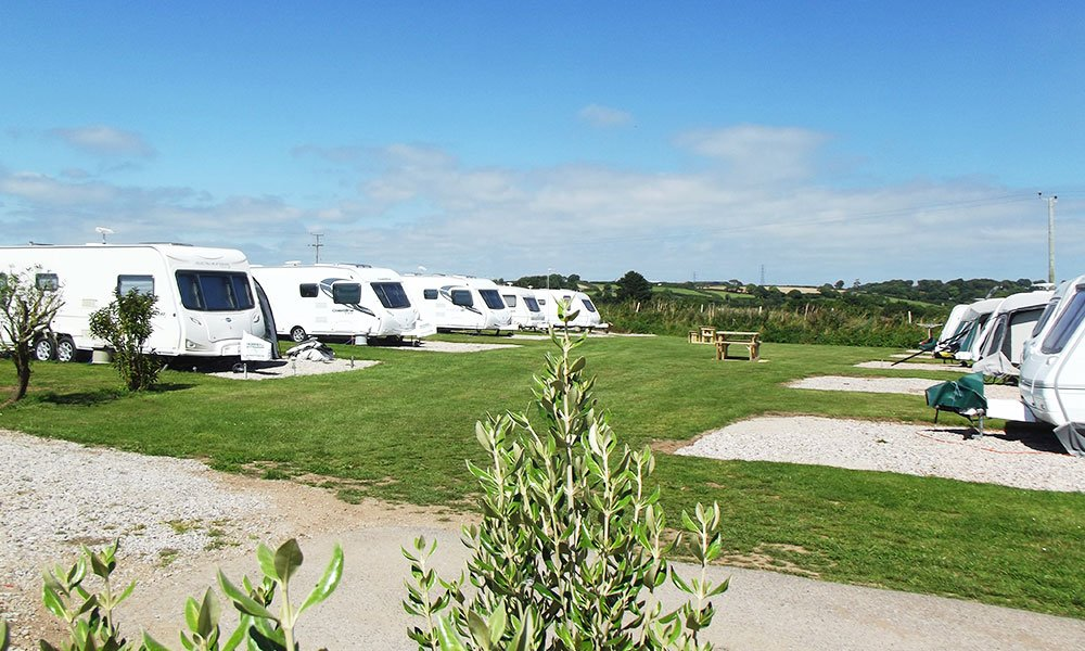 Parkland Site Caravan Seasonal Pitches