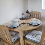 Parkland Site Tonto's View Self Catering Living Room Table and Chairs