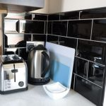 Parkland Site Tonto's View Self Catering Kitchen Kettle and Toaster