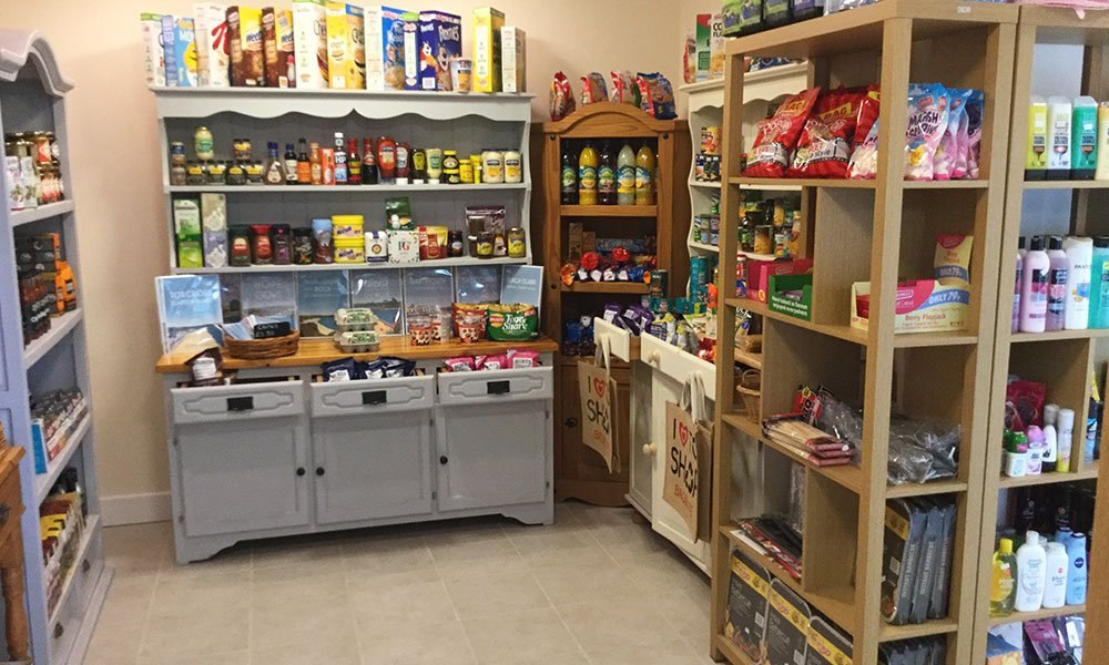 Parkland Site Shop Food and drink